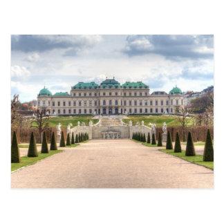 Belvedere Wien Österreich Postkarten