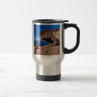 Bemerkenswerte Felsen, Känguru-Insel, Edelstahl Thermotasse
