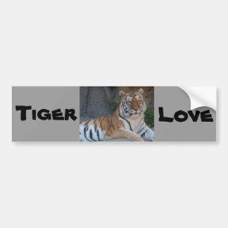 Bengalische Tiger Autoaufkleber