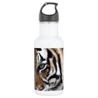 Bengalischer Tiger im Gras Trinkflasche