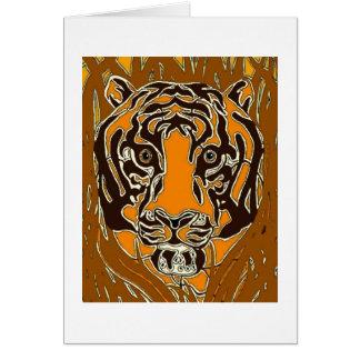 Bengalischer Tiger Karte