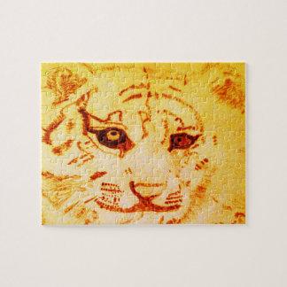 Bengalisches Tiger-Puzzlespiel Puzzle
