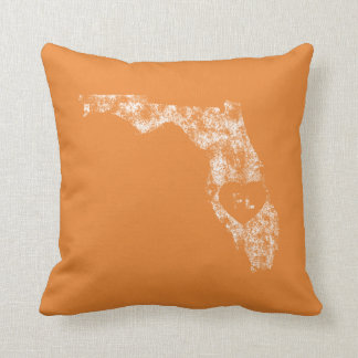 Benutztes i-Liebe-Florida-Staatthrow-Kissen Kissen