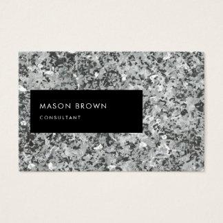 Berater Profi modernes Abstrakt Grau Visitenkarte