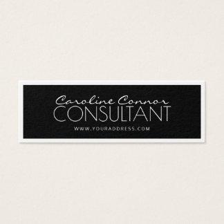 Berater-schwarze u. weiße angrenzende Karte