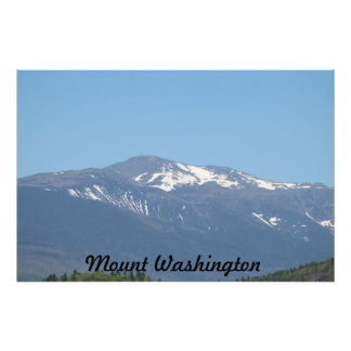 Berg Washington Fotodruck