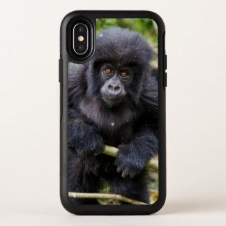 Berggorilla (Gorilla Beringei Beringei) OtterBox Symmetry iPhone X Hülle