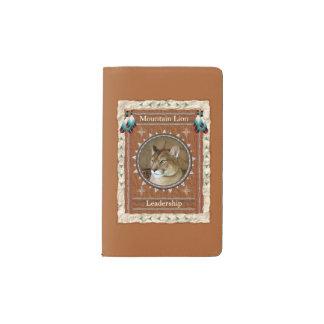 Berglöwe - Führungs-Moleskin-Abdeckung Moleskine Taschennotizbuch