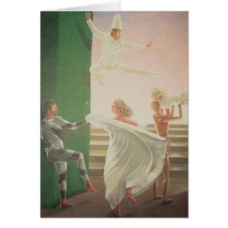 Berkley Haus-Wandgemälde - 3 Grußkarte