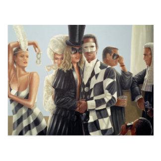 Berkley Hotel-Wandgemälde - 1 Postkarten