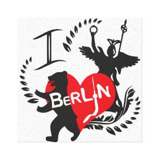 Berlin Bild Leinwand Druck