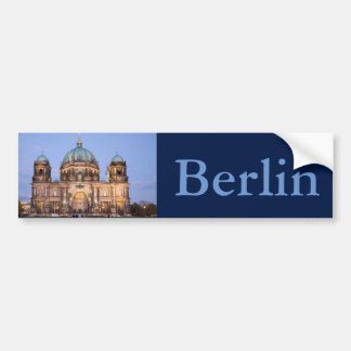 Berlin-Kathedrale Autoaufkleber