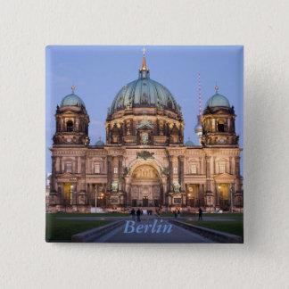 Berlin-Kathedrale Quadratischer Button 5,1 Cm