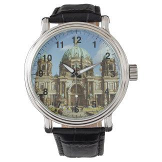 Berlin-Kathedralen-deutsche evangelische Bewohner Armbanduhr
