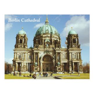 Berlin-Kathedralen-deutsche evangelische Bewohner Postkarte