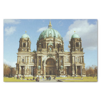 Berlin-Kathedralen-deutsche evangelische Bewohner Seidenpapier