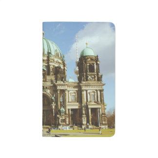 Berlin-Kathedralen-deutsche evangelische Bewohner Taschennotizbuch