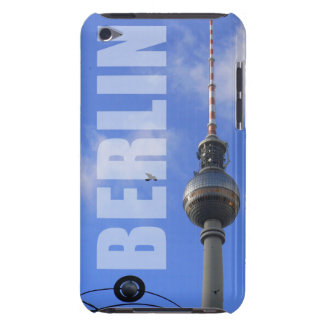 "BERLIN TV Tower with Detail of ""World Time Clock"" iPod Touch Case-Mate Hülle"