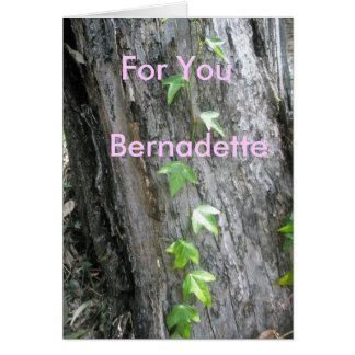 Bernadette Karte