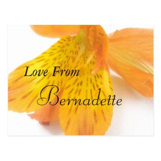 Bernadette Postkarte
