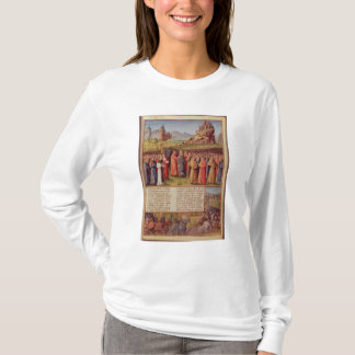 Bernard Clairvaux predigenden zweiten Kreuzzugs T-Shirt
