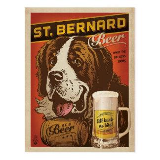 Bernhardiner-Bier Postkarte