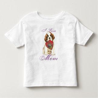 Bernhardiner-Herz-Mamma Kleinkinder T-shirt