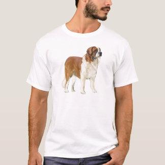 Bernhardiner-Porträt T-Shirt