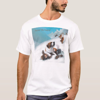 Bernhardiner-Tasse T-Shirt