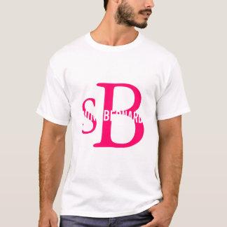 Bernhardiner-Zucht-Monogramm T-Shirt