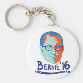 Bernie-Sandpapierschleifmaschine-Präsident 2016 Schlüsselanhänger