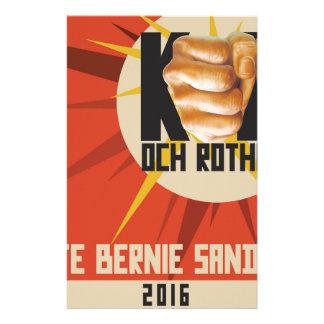 Bernie-Sandpapierschleifmaschinen für Präsidenten Individuelles Büropapier