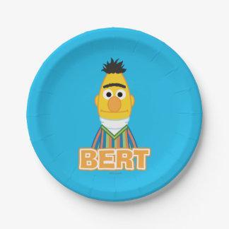 Bert-Klassiker-Art Pappteller 17,8 Cm
