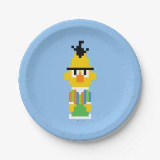 Bert-Pixel-Kunst Pappteller 17,8 Cm