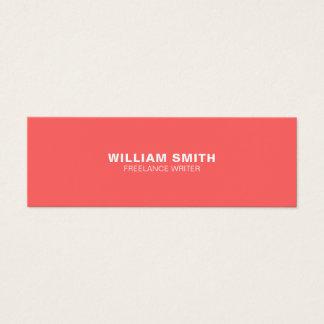 Berufliche elegante moderne Geschäfts-Karte Mini Visitenkarte