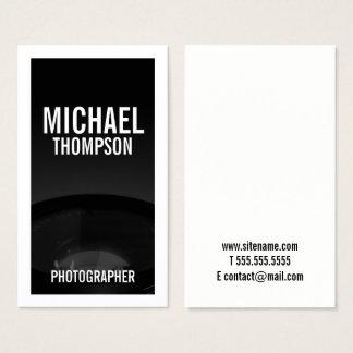 Berufliche Schwarzweiss-Fotografie Visitenkarten