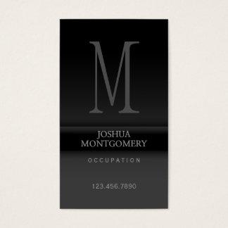 Berufliches elegantes Geschäftskartenentwurf Visitenkarten