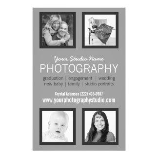 Berufliches Fotograf-Geschäfts-Mitteilungsblatt 14 X 21,6 Cm Flyer