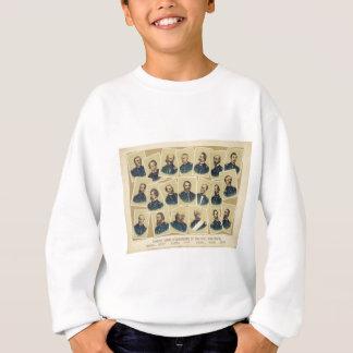 Berühmte Gewerkschafts-Kommandanten des zivilen Sweatshirt