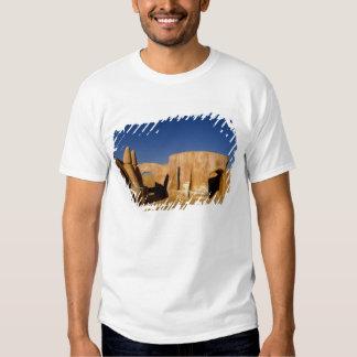 Berühmtes Film-Set Stern-Kriegsfilme in Sahara T-Shirt