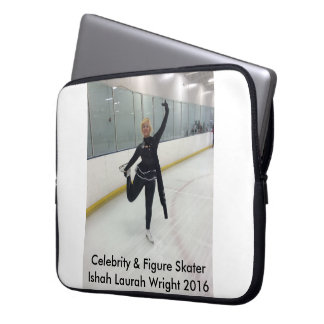 Berühmtheit u. Zahl Skater Ishah Laurah Wright Computer Sleeve Schutzhülle
