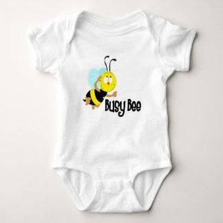 Beschäftigte Biene Baby Strampler