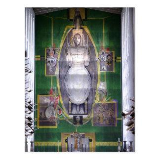 Beschreibung Christus im Ruhm, Graham Sutherland Postkarte