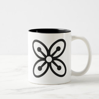 BESE SAKA | Symbol des Reichtums, Power, Überfluss Zweifarbige Tasse