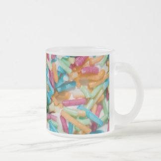 Besprüht Kaffee Haferl