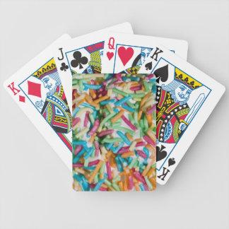 Besprüht Pokerkarten