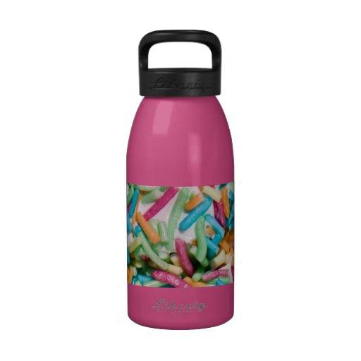Besprüht Wasserflaschen