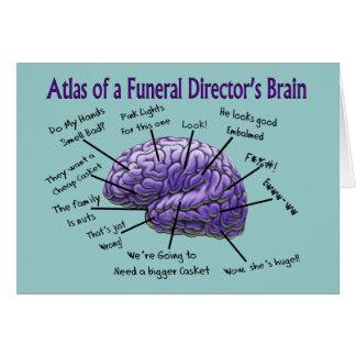 Bestattungsunternehmer-/Leichenbestatter-lustiger Karte