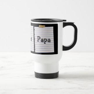 Beste der Papa-Tasse der Welt Edelstahl Thermotasse