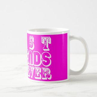 Beste Freund-Tassen-Rosa Tasse